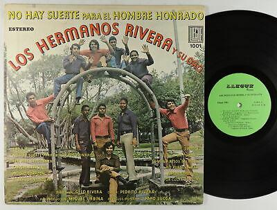Los Hermanos Rivera   No Hay Suerte LP   Llegue   Rare Latin Salsa