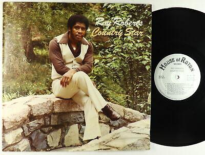 Roy Roberts   Country Star LP   House Of Roton   Rare NC Modern Soul Funk OG VG
