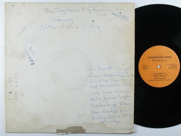 RON EVERETT Glitter Of The City VAGABOND KING LP private funk soul jazz HEAR