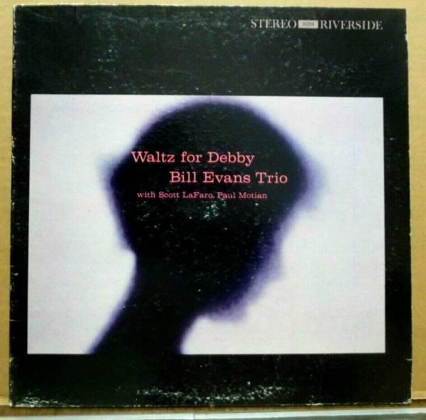 BILL EVANS TRIO Waltz For Debby ORIGINAL 1961 RIVERSIDE LP Deep Groove