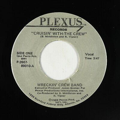 Modern Soul Boogie 45   Wreckin  Crew Band   Cruisin  With The Crew   Plexus VG
