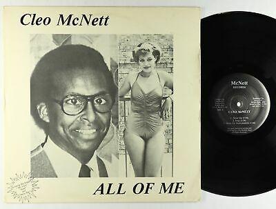 Cleo McNett   All Of Me LP   McNett   Private Funk Soul VG