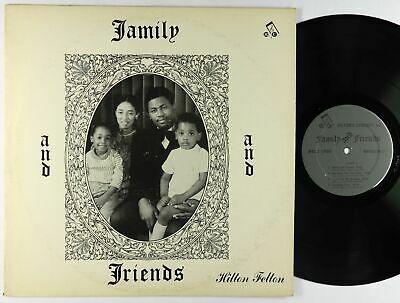 Hilton Felton   Family and Friends LP   Rare Private Funk Jazz VG