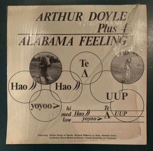 ARTHUR DOYLE free jazz LP AK BA    Alabama Feeling    private press    78 orig   NM
