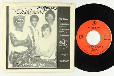 Modern Soul Boogie 45   Sweat Band ft Jeff Floyd   Fellows Be Kind   Big J   VG