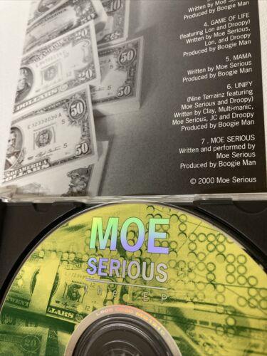 MOE SERIOUS EP RANDOM RAP CD UNKNOWN PORTLAND INDIE G FUNK PRIVATE PRESS