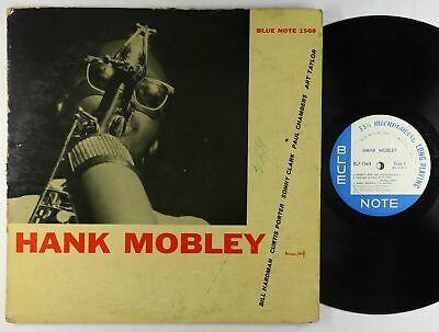 Hank Mobley   S T LP   Blue Note   BLP 1568 OG Press Mono DG RVG Ear 47 W 63rd