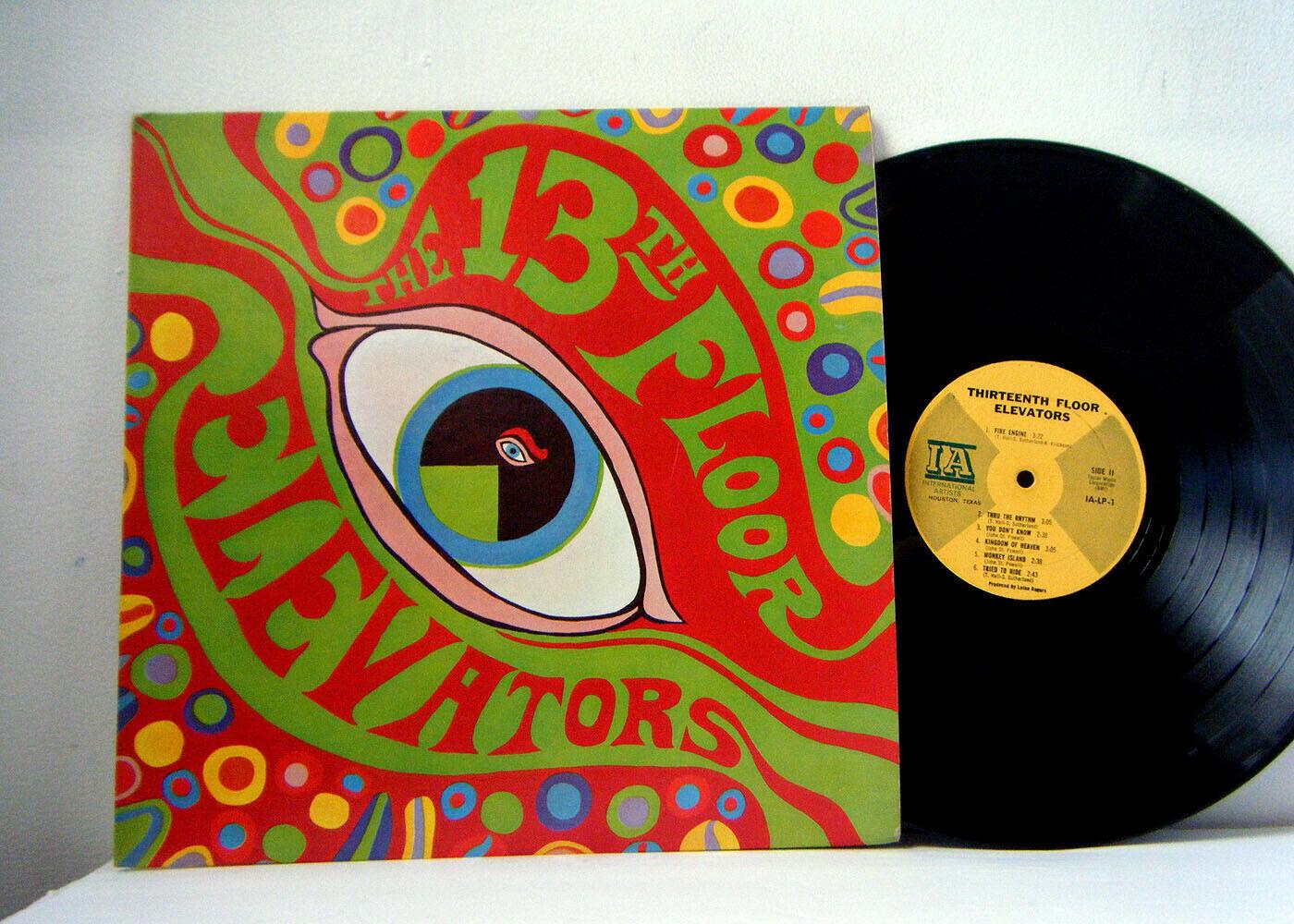 13TH FLOOR ELEVATORS  LP The Psychedelic Sounds Of  1966 IA original mono vinyl