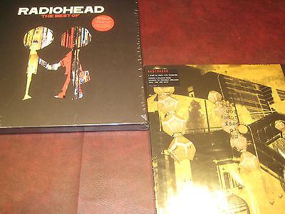 RADIOHEAD best of 180 GRAM FOUR LP SET FACTORY SEALED   BONUS LIVE LP   5 LP SET