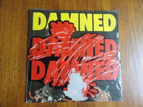 THE DAMNED Damned Damned Damned ORIG  SEALED STIFF UK LP W  HOT RODS PHOTO 1977