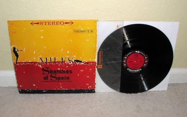 Miles Davis Sketches Of Spain Lp Orig 6 Eye Stereo Dg Columbia Gil 6eye Evans Nm