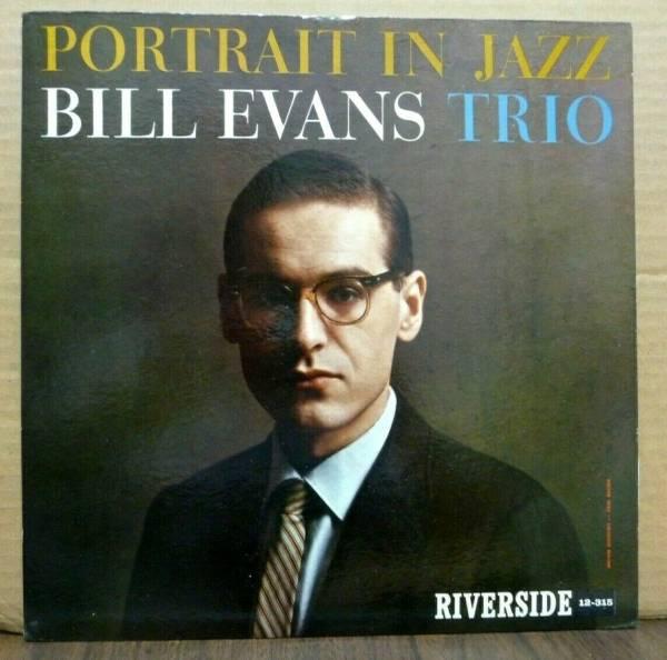 BILL EVANS TRIO Portrait In Jazz ORIGINAL 1960 RIVERSIDE LP Deep Groove SUPERB