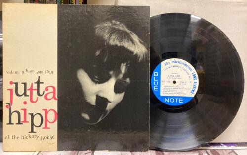 Jutta Hipp   At The Hickory House Vol  2   Blue Note BLP 1516 Mono LP 767 Lex
