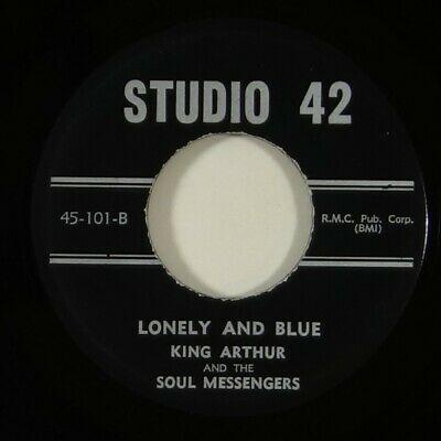 King Arthur   Soul Messengers  Lonely   Blue  Rare Funk Deep Soul 45 Studio 42
