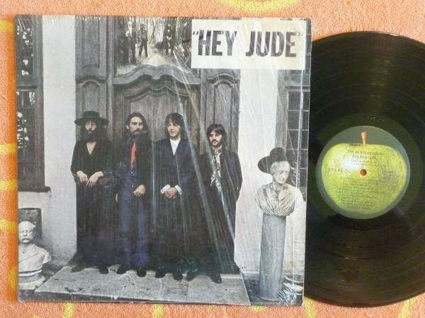 BEATLES Hey Jude LP Apple 1970 IN SHRINK w  HYPE STICKER First Scranton Pressing