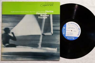 HERBIE HANCOCK Maiden Voyage ORIG BLUE NOTE JAZZ LP NY DG EAR VG