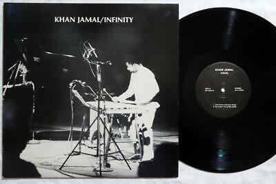 KHAN JAMAL Infinity ORIG SPIRITUAL JAZZ LP VG