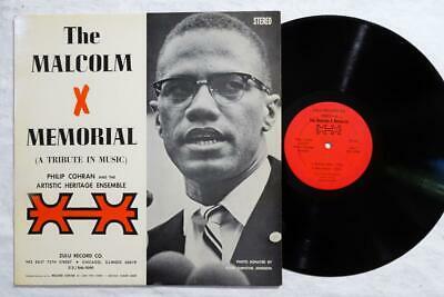 PHIL RANELIN Malcolm X Memorial ORIG SPIRITUAL JAZZ ZULU LP VG