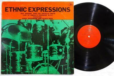 ROY HAYNES Ethnic Expressions OLU DARA ORIG SPIRITUAL JAZZ IMHOTEP LP