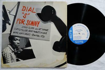 SONNY CLARK Dial S For Sonny CURTIS FULLER ORIG BLUE NOTE JAZZ DG EAR RVG LP