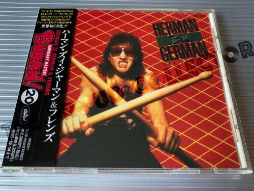 HERMAN ZE GERMAN and Friends 1985  TOCP 8084 1993  V RARE JAPAN CD OBI SCORPIONS